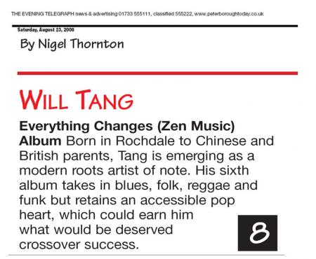 Peterborough Evening Telegraph - Album Review